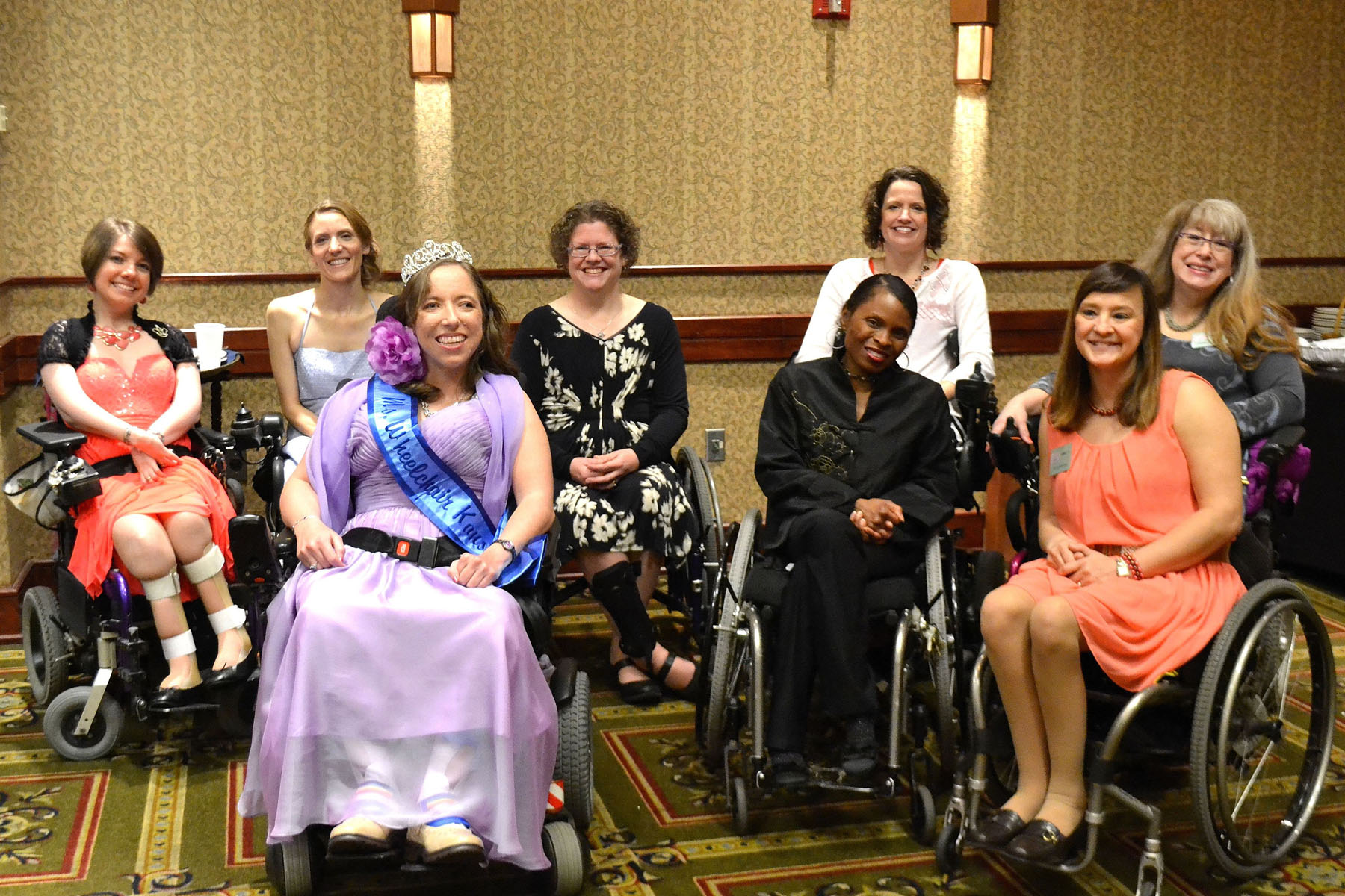 MWKS titleholders gather for a group photo